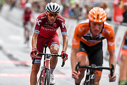 July 23, 2017 - Seraing, BELGIUM - Russian Maxim Belkov of Katusha-Alpecin as he arrives in the second stage of the 38th edition of the Tour de Wallonie (Ronde van Wallonie), 191,5km from Chaudfontaine to Seraing, Sunday 23 July 2017. This year's edition of the Tour de Wallonie takes plave from 22 to 26 July. BELGA PHOTO LUC CLAESSEN (Credit Image: © Luc Claessen/Belga via ZUMA Press)