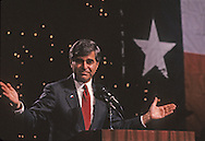 Candidate Michael Dukakis during the Dukakis Bentsen campaign in 1988...Photograph by Dennis Brack bb33