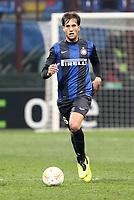 "Matias Silvestre Inter.Milano 14/02/2013 Stadio ""San Siro"".Football Calcio UEFA Europa League 2012/13.Inter v Cluj.Foto Insidefoto Paolo Nucci."