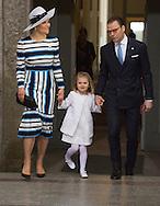 Stockholm-30-4-2016 <br /> <br /> 70th birthday celebration of King Carl Gustaf of Sweden.<br /> <br /> 44 10.00:  The Deum, Palace Church<br /> <br /> <br /> COPYRIGHT/Royalportraits Europe/BERNARD RUEBSAMEN
