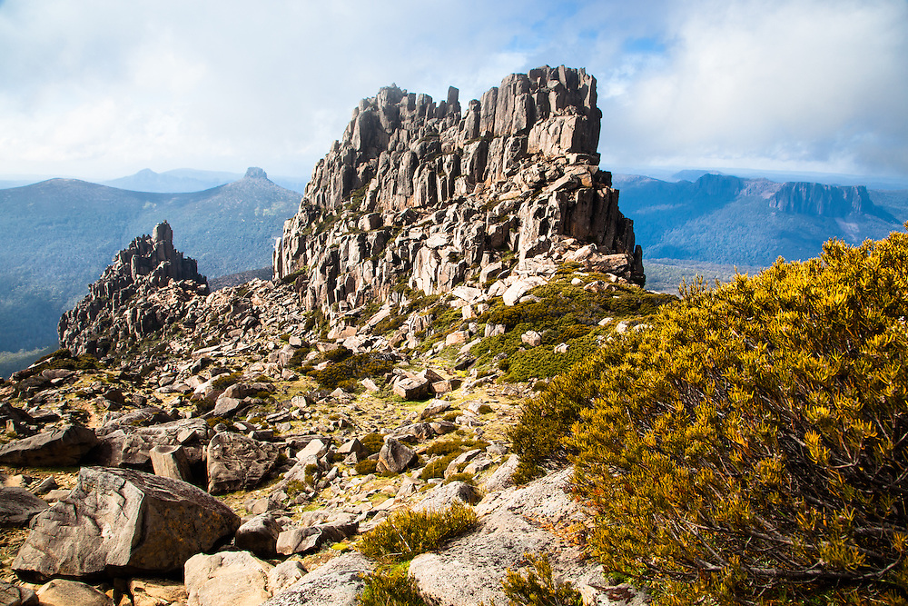 Mt Ossa and Mt Pelion East, Cradle Mountain - Lake St Clair National Park.
