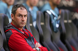 "Swansea City manager Paul Clement during the Carabao Cup, Second Round match at Stadium MK, Milton Keynes. PRESS ASSOCIATION Photo. Picture date: Tuesday August 22, 2017. See PA story SOCCER MK Dons. Photo credit should read: Scott Heavey/PA Wire. RESTRICTIONS: EDITORIAL USE ONLY No use with unauthorised audio, video, data, fixture lists, club/league logos or ""live"" services. Online in-match use limited to 75 images, no video emulation. No use in betting, games or single club/league/player publications."