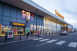 New Sainsbury's superstore, Thanet, Kent UK