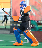 ROTTERDAM -  Quintijn Landsman .  Practice Match Hockey : Netherlands Boys U18  v England U18 . COPYRIGHT KOEN SUYK