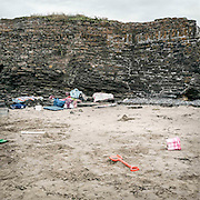 The beach at Loftus Hall where Fr. Sean Fortune would organise to bring boys for beach 'parties'. He would give them alcohol and drugs and abuse them.