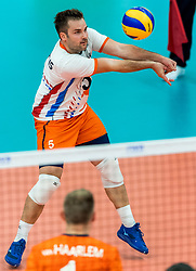 08-09-2018 NED: Netherlands - Argentina, Ede<br /> Second match of Gelderland Cup / Dirk Sparidans #5 of Netherlands