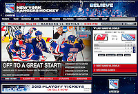 New York Rangers website, May 14, 2012.