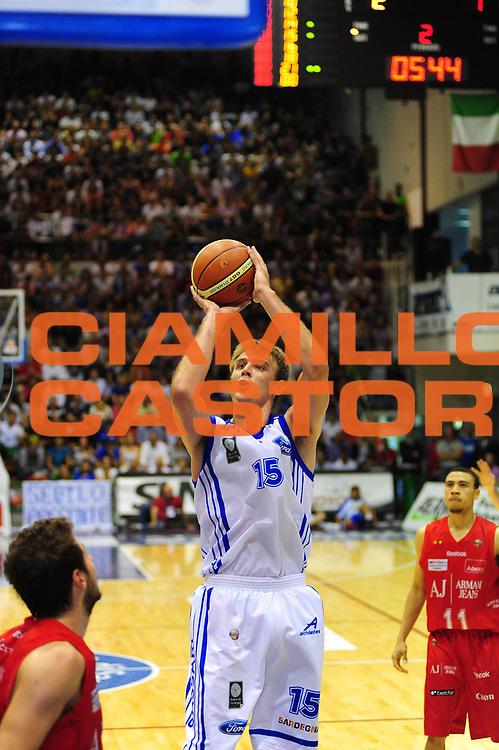 DESCRIZIONE : SASSARI LEGA A 2010-11 Dinamo Sassari Armani J Milano<br /> GIOCATORE : Vanja Plisnic<br /> SQUADRA : Dinamo Sassari Armani J Milano<br /> EVENTO : CAMPIONATO LEGA A 2010-2011 <br /> GARA : Dinamo Sassari Armani J Milano<br /> DATA :24/05/2011<br /> CATEGORIA : TIRO<br /> SPORT : Pallacanestro <br /> AUTORE : Agenzia Ciamillo-Castoria/M.Turrini<br /> Galleria : Lega Basket A 2010-2011  <br /> Fotonotizia : SASSARI LEGA A 2010-11 Dinamo Sassari Armani J Milano<br /> Predefinita :
