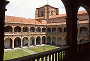 SPAIN, CASTILE, SALAMANCA University; Fonseca College arches