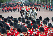Royals Attend Trooping Of The Colour 2014