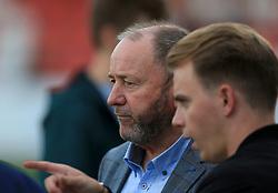 Cheltenham Town manager Gary Johnson - Mandatory by-line: Paul Roberts/JMP - 23/08/2017 - FOOTBALL - LCI Rail Stadium - Cheltenham, England - Cheltenham Town v West Ham United - Carabao Cup