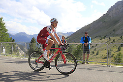 Tony Martin (GER) Katusha Alpecin climbs Col d'Izoard during Stage 18 of the 104th edition of the Tour de France 2017, running 179.5km from Briancon to the summit of Col d'Izoard, France. 20th July 2017.<br /> Picture: Eoin Clarke | Cyclefile<br /> <br /> All photos usage must carry mandatory copyright credit (© Cyclefile | Eoin Clarke)