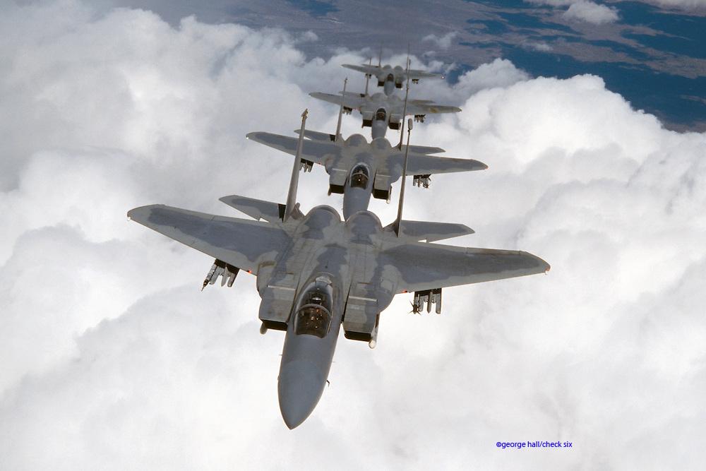 F-15C Eagles, Alaska
