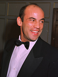 MR GUY DELLAL son of Jack Dellal the multi millionaire businessman, at a wedding in London on 6th December 1997.MED 47