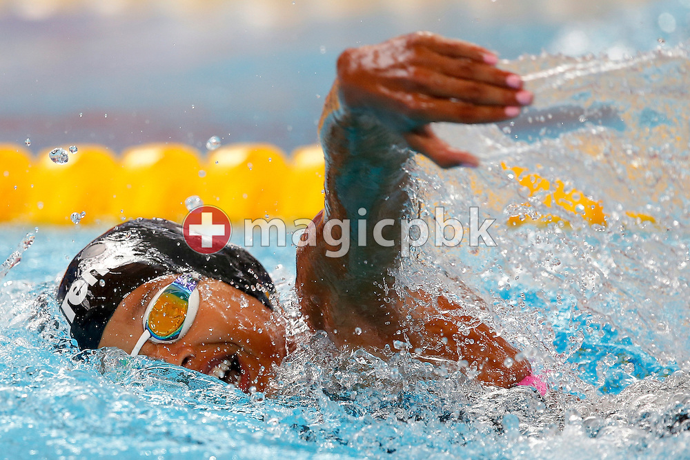 Kaya Adwoa FORSON of Ghana competes in the women's 200m Freestyle Heats during the 16th FINA World Swimming Championships held at the Kazan arena in Kazan, Russia, Tuesday, Aug. 4, 2015. (Photo by Patrick B. Kraemer / MAGICPBK)