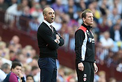 Aston Villa manager Roberto Di Matteo shouts from the side-line at Villa Park - Mandatory by-line: Paul Knight/JMP - 13/08/2016 - FOOTBALL - Villa Park - Birmingham, England - Aston Villa v Rotherham United - Sky Bet Championship