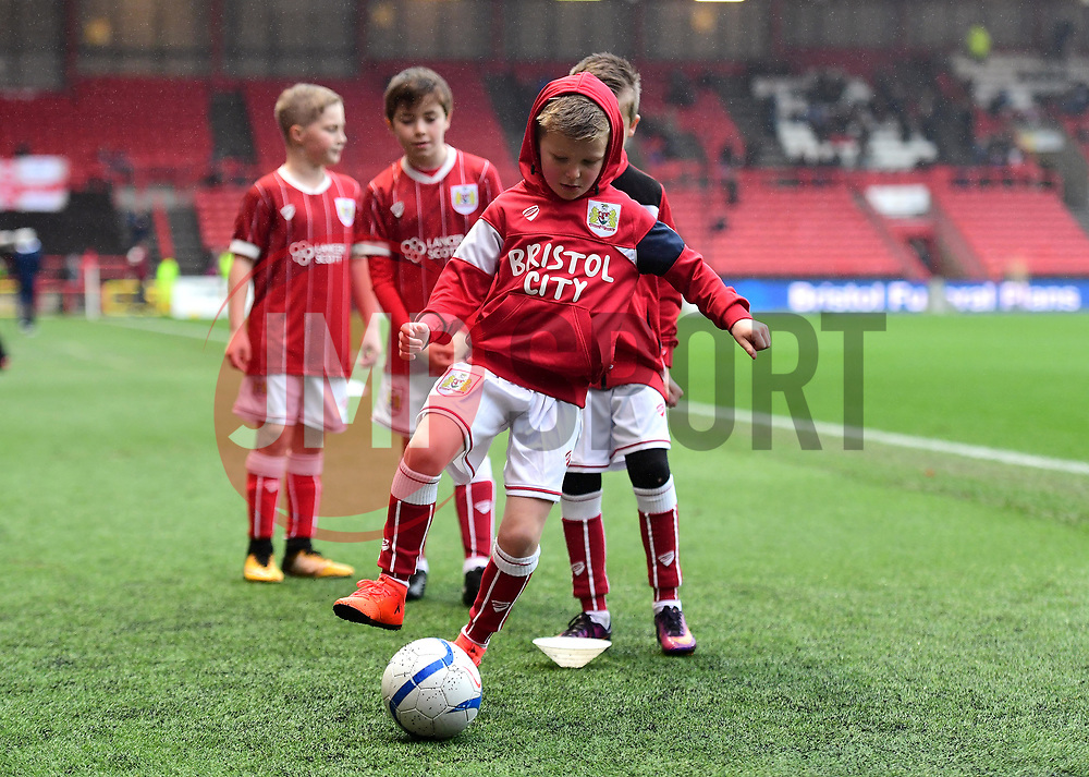 Mascot  - Mandatory by-line: Joe Meredith/JMP - 27/01/2018 - FOOTBALL - Ashton Gate Stadium - Bristol, England - Bristol City v Queens Park Rangers - Sky Bet Championship
