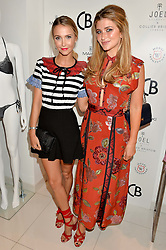 Left to right, SOPHIE HERMANN and LAUREN HUTTON at the launch for the collaboration of Joel Swimwear for Collier Bristow held at Collier Bristow, 61 King's Road, Chelsea, London on 11th August 2016.