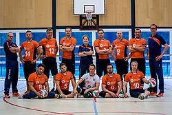 07-10-2017 NED: Portret zitvolleybalteam Oranje mannen 2017-2018, Doorn<br /> Nederland bereidt zich voor op het komende EK zitvolleybal / Team 2017