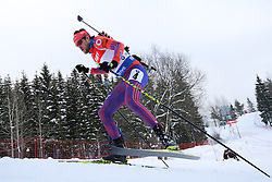 10.03.2016, Holmenkollen, Oslo, NOR, IBU Weltmeisterschaft Biathlion, Oslo, 20km, Herren, im Bild Leif Nordgren (USA) // during Mens 20km individual Race of the IBU World Championships, Oslo 2016 at the Holmenkollen in Oslo, Norway on 2016/03/10. EXPA Pictures © 2016, PhotoCredit: EXPA/ Newspix/ Tomasz Jastrzebowski<br /> <br /> *****ATTENTION - for AUT, SLO, CRO, SRB, BIH, MAZ, TUR, SUI, SWE only*****