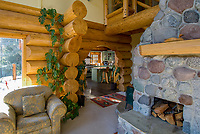 Interior photos of the McNeeley residence in Whistler, BC Canada