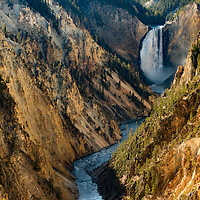 Yellowstone Lower Falls from Artists Point