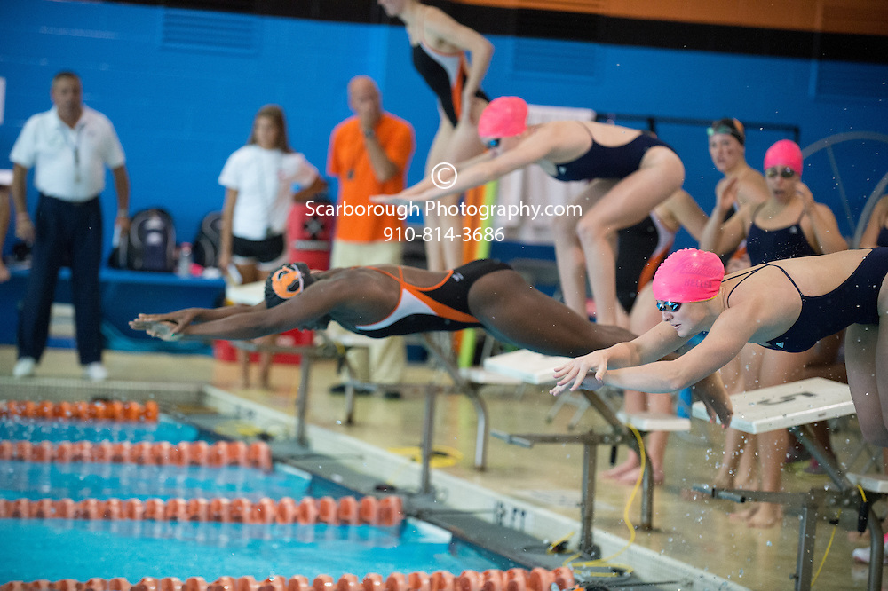 2014 Campbell University Swim Team
