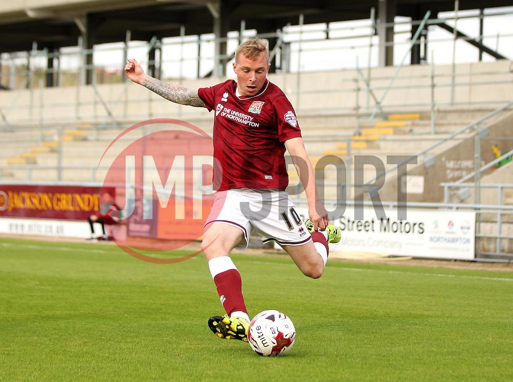 Nicky Adams of Northampton Town - Mandatory byline: Robbie Stephenson/JMP - 07966 386802 - 10/10/2015 - FOOTBALL - Sixfields Stadium - Northampton, England - Northampton Town v Hartlepool - Sky Bet League Two