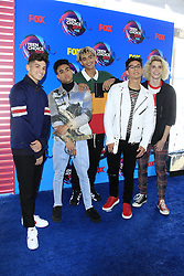 August 13, 2017 - Los Angeles, CA, USA - LOS ANGELES - AUG 13:  PrettyMuch at the Teen Choice Awards 2017 at the Galen Center on August 13, 2017 in Los Angeles, CA (Credit Image: © Kay Blake via ZUMA Wire)