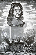 Balthasar Becker (1634-1698)  Dutch divine and author of philosophical and theological works.  Opposing superstition, he was a key figure in the end of witchcraft persecutions in early modern Europe.