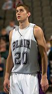 2/11/06 -- Omaha, Ne.Scott Neuhalfen of the Blair Nebraska Bears at The Omaha Shootout, a High School Basketball tournament featuring some of the best prospects at the Qwest Center Omaha...(Photo by Chris Machian/Prarie Pixel Group).