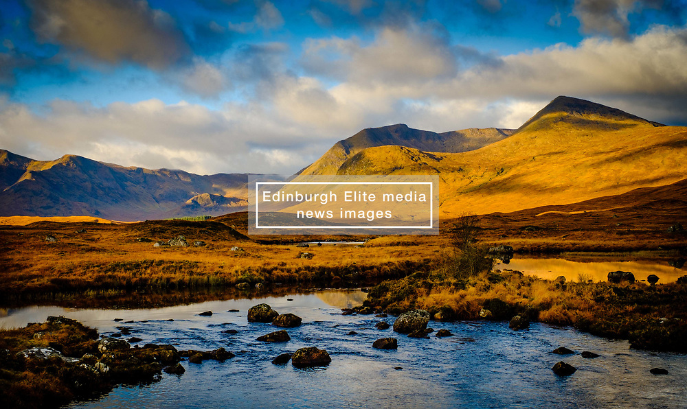 Early morning light on Rannoch Moor, Highlnads of Scotland<br /> <br /> (c) Andrew Wilson | Edinburgh Elite media