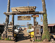 Newport Beach Dory Fishing Fleet Entrance