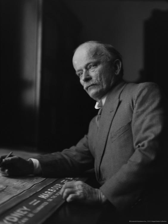 Dr. J.C. Bradfield, Chief Engineer of Sydney Harbour Bridge, Australia, 1930