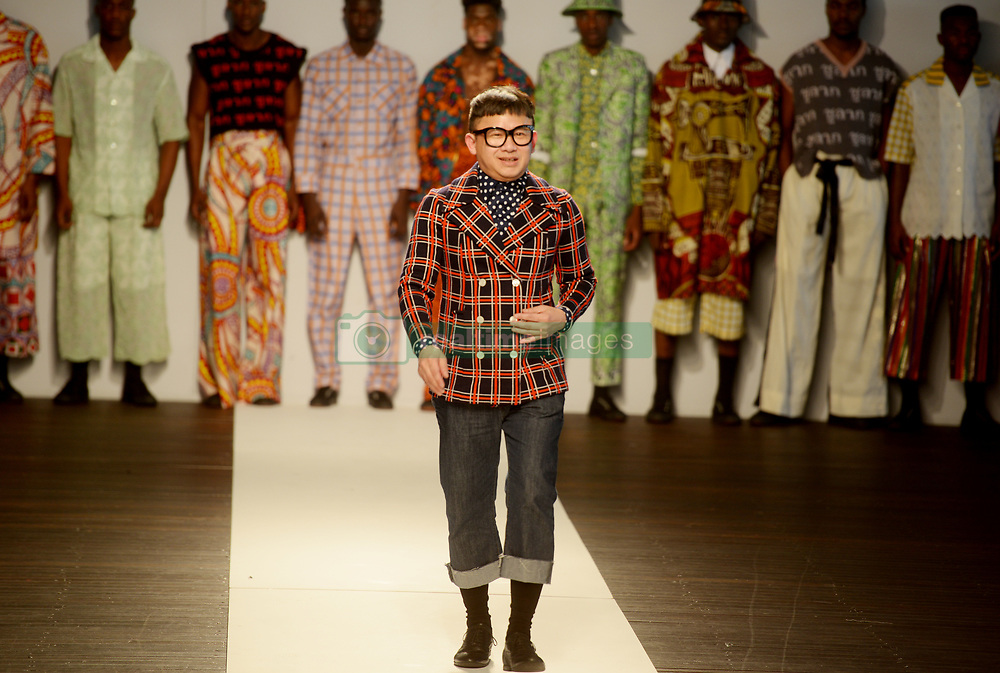 Cape Town-180707- Designer Chulaap at the SA mens wear week  held at the Lookout, V&A Waterfront. Picture: Siphephile Sibanyoni/ African News Agency (ANA).