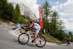 Aleksander Rybakov (RUS) of Rusvelo during 3rd Stage Skofja Loka - Vrsic (170 km) at 20th Tour de Slovenie 2013, on June 15, 2013, in Skofja Loka, Slovenia. (Photo by Vid Ponikvar / Sportida.com)