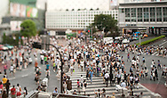 TREVOR HAGAN - Shibuya Crossing.<br /> August 14, 2008