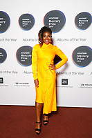 Clara Amfo attends the media room during the 2019 Hyundai Mercury Prize Launch, Eventim Apollo, London, UK, Saturday 06 July 2019<br /> Photo JM Enternational