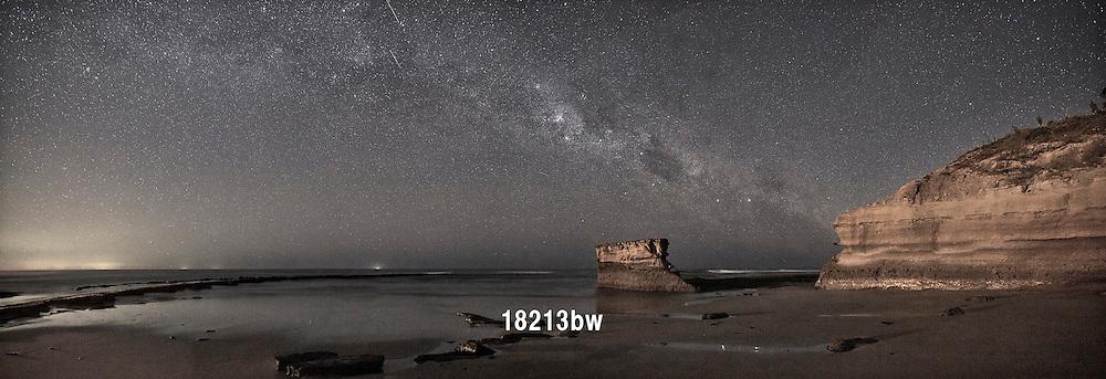 The Milky Way over Bird Rock