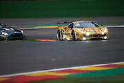 Car 50 Pasin Lathouras, Michele Rugolo, Alessandro Pier Guidi during the Blancpain Endurance Series at Spa, Belguim on 30 July 2016. Photo by Jarrod Moore.