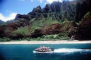 Zodiak, Napali Coast, Kauai, Hawaii