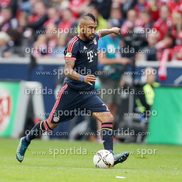 26.09.2015, Coface Arena, Mainz, GER, 1. FBL, 1. FSV Mainz 05 vs FC Bayern Muenchen, 7. Runde, im Bild Arturo Vidal (FC Bayern Muenchen #23) // during the German Bundesliga 7th round match between 1. FSV Mainz 05 and FC Bayern Munich at the Coface Arena in Mainz, Germany on 2015/09/26. EXPA Pictures &copy; 2015, PhotoCredit: EXPA/ Eibner-Pressefoto/ Schueler<br /> <br /> *****ATTENTION - OUT of GER*****