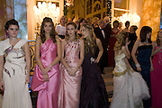 DEBUTANTES, Crillon Debutante Ball 2007,  Crillon Hotel Paris. 24 November 2007. -DO NOT ARCHIVE-© Copyright Photograph by Dafydd Jones. 248 Clapham Rd. London SW9 0PZ. Tel 0207 820 0771. www.dafjones.com.