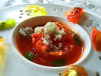 Restaurant Guy Savoy - tomato entrée