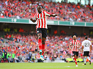 Inaki Williams of Athletic Bilbao celebrates scoring a goal  during the Pre-season Friendly match at the Aviva Stadium, Dublin<br /> Picture by Yannis Halas/Focus Images Ltd +353 8725 82019<br /> 05/08/2017