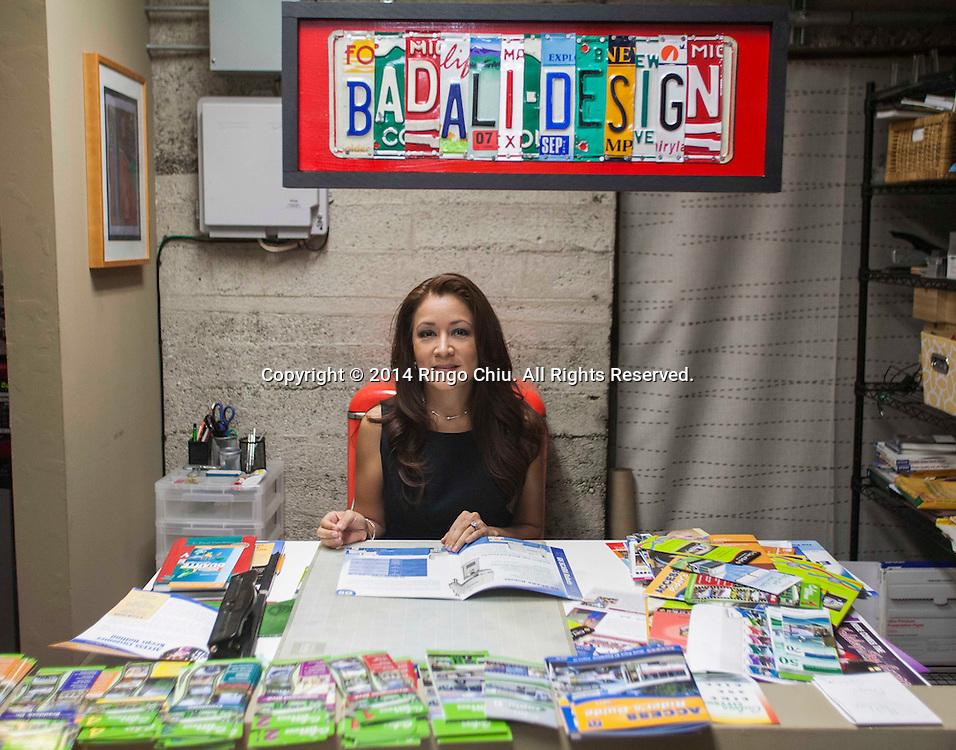 Lena Badali, principal at VADI LA.<br /> <br /> (Photo by Ringo Chiu/PHOTOFORMULA.com)