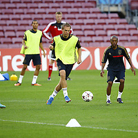 20130917 - TRAINING AJAX IN BARCELONA