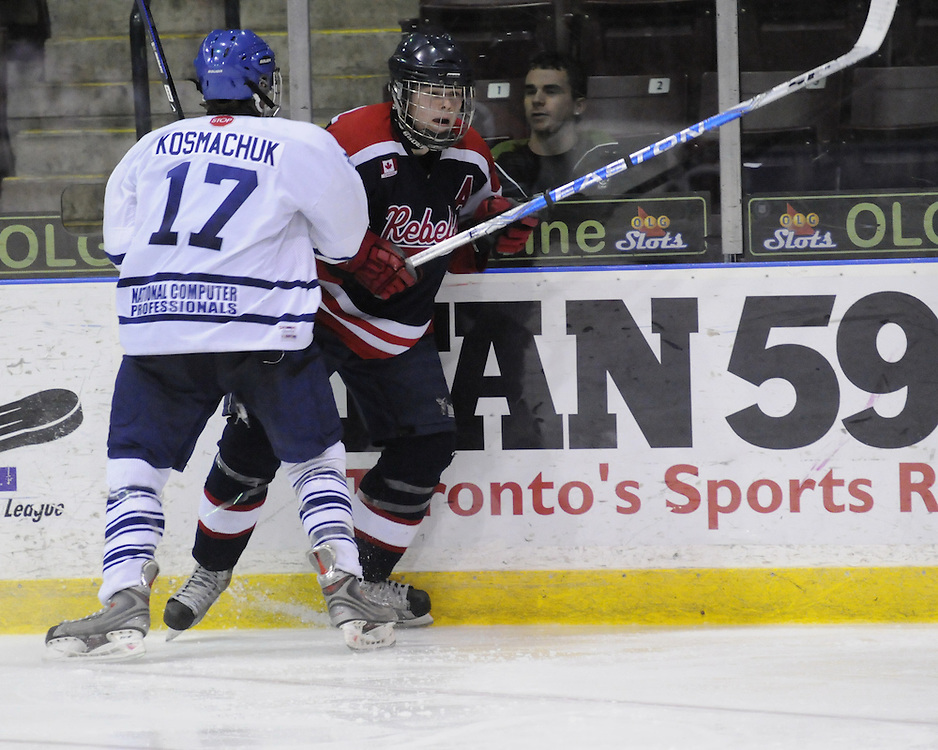 The championship game of the 2010 OHL Cup Showcase Tournament between the Mississauga Rebels and Toronto Marlies. Photo by Aaron Bell/OHL Images