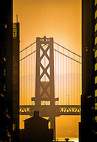 Oakland Bay Bridge, San Francisco, California USA