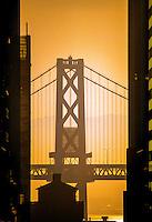 Oakland Bay Bridge, San Francisco, California USA